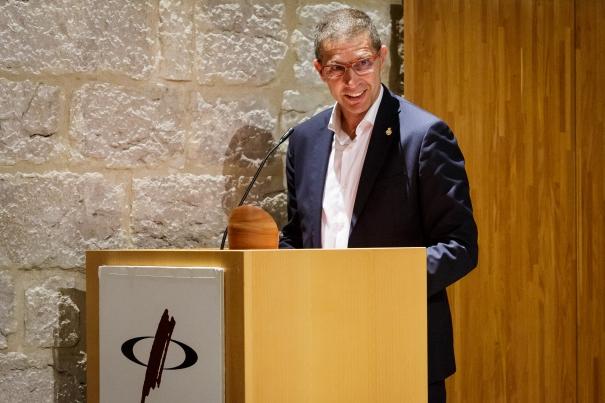 El president del Girona FC; Delfí Geli.