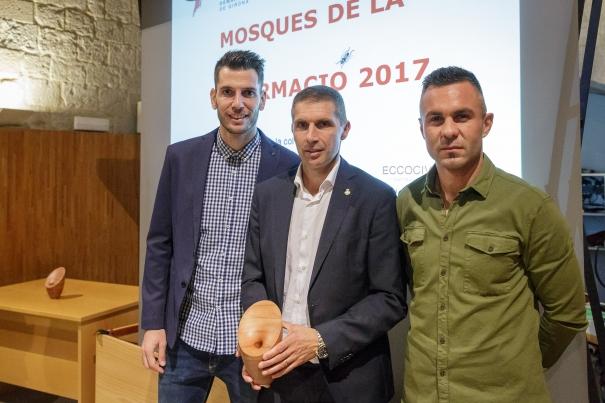 Els representants del Girona FC.