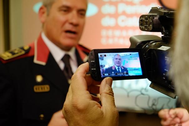 Sergi Pla, comissari en cap dels Mossos de la Catalunya Central