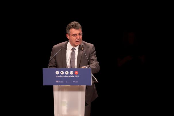 El president de la Diputació de Girona, Miquel Noguer.
