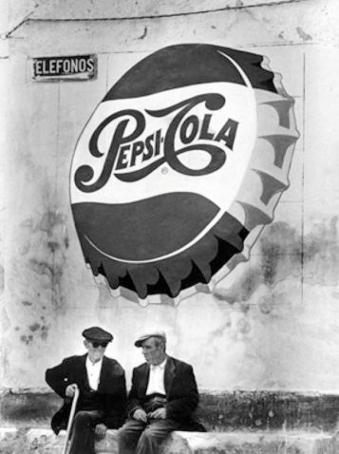 Una imatge de la Mancha als anys cinquanta. Foto: Oriol Maspons
