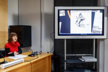 Presentació del treball guanyador de la II Beca dels Premis Carles Rahola